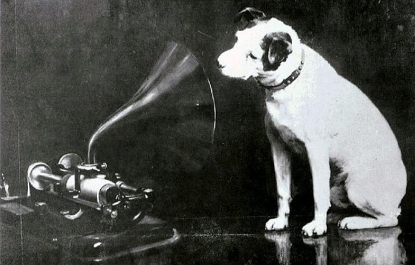 HMV 商標背後的人狗故事